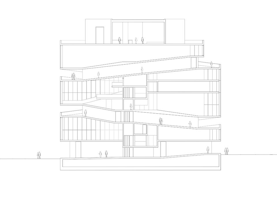 02_farringdon exhibition house_section